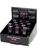 On Natural Arousal Oil For Her 12 Piece Refill