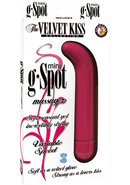 The Velvet Kiss Collection Mini G-spot Massager Vibrator -...