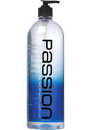 Passion Natural Water Based Lubricant 34 Ounce Pump
